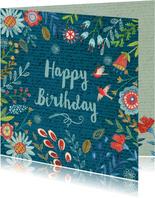 Happy Birthday Bloempjes