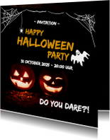 Happy halloween party - do you dare?