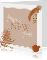 Happy new year boho-roze