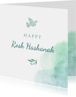 Happy Rosh Hashanah Joodse jaarwisseling