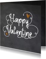 Happy Valentine krijtbord look - LO