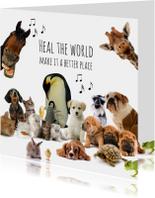 Heal the world dierenkaart-isf