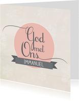HEE Goodies kerstkaart Immanuel