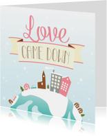 Kerstkaarten - HEE Goodies kerstkaart Love