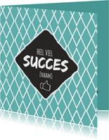 Heel veel succes [naam]