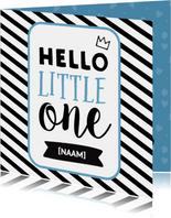 Hello Little One - jongetje geboren