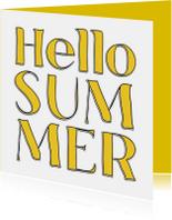 Hello Summer - SG