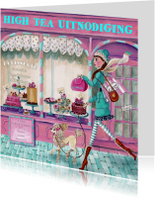 High Tea Patisserie Cupcake Illustratie