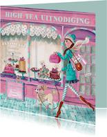 High Tea Patisserie Cupcake Illustratie