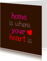 Home is where your heart is 1
