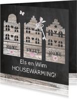 housewarming houten huisjes
