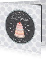 Huwelijk taart - Tirzaworld