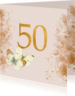 Huwelijks jubileum - 50 jaar getrouwd