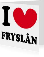 I love Fryslan