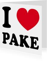 I love Pake