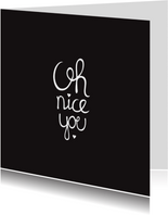 I love you zwart kaart valentijn