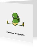 Ik mis je kaart