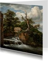 Jacob van Ruisdael. Landschap met molen en ruïne