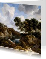 Jacob van Ruisdael. Rivierlandschap