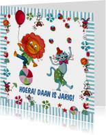 Jarig Circus Leeuw Cartita Design