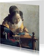 Johannes Vermeer. De kantwerkster