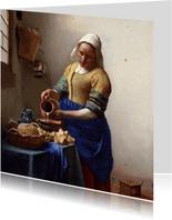 Johannes Vermeer. Het melkmeisje
