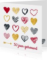 Jubileum 50 jaar hartjes