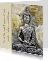 Jubileum Boeddha Felicitatie