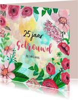 Jubileum Getrouwd 25 jaar