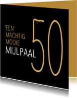 jubileum mijlpaal 50