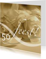 jubileum vijftig tekst variabel sepia