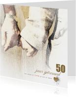 Jubileumkaart 50 Gouden Jaren