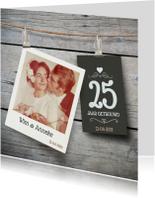 Jubileumkaart jaar getrouwd