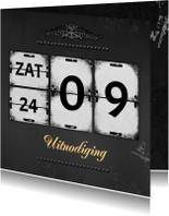 Jubileumkaart kalender RB
