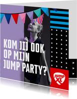 Jump XL kinderfeest JumpParty Meisje