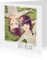 Coachingskaarten - Just Relax! Loulou & Ting