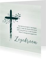 Kaart kruis opwekking Zegekroon