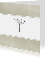 Kaart Sterkte bloem
