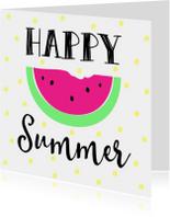 Kaartje Happy Summer - WW