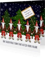 Kerst - kerstmannen team