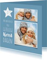 Kerst nieuwjaar collage 3-luik