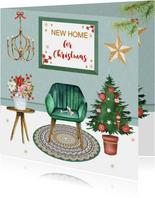 Kerst verhuizen leuke inrichting