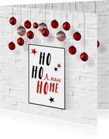 Kerst verhuizing Ho Ho Ho A new home