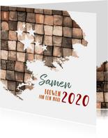 kerst zakelijk samen bouwen aan een mooi 2020