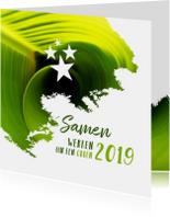 Kerst zakelijk samen werken aan een groen 2019