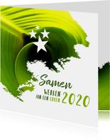Kerst zakelijk samen werken aan een groen 2020