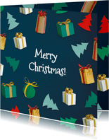 Kerstboompjes en cadeautjes