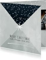 Kerstkaart 2020-2021, Merry Christmas sterretjes