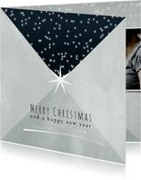 Kerstkaart 2020, Merry Christmas sterretjes