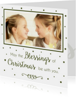 Kerstkaart Blessings 2 - WW